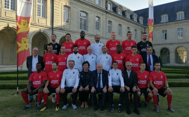 L'équipe de Normandie en présentation – LIGUE DE FOOTBALL DE
