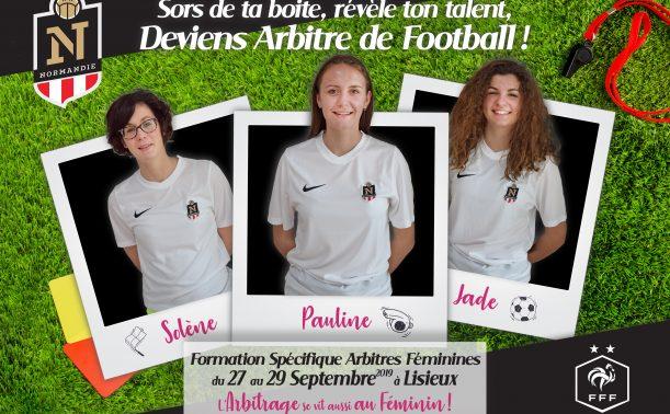 Féminines – LIGUE DE FOOTBALL DE NORMANDIE